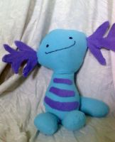Wooper plush by CaptHansIsMyMaster
