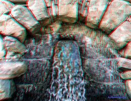 Anaglyph Fontaine by passionofagoddess
