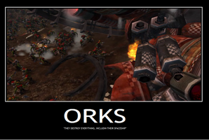,Orks by ZergRex