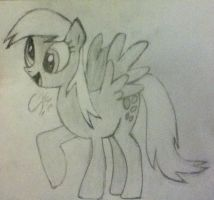 DERPY HOOVES!!!!! -SKETCH- by Shadowxnote
