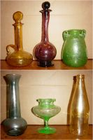 Colored Glass 6 Potions Set by FantasyStock