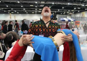 The Death of Supergirl (with George Perez!!!!) by chiquitita-cosplay