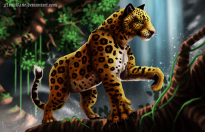 Just a Leopard by NoktBane