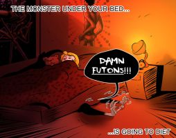 The Monster Under Your Bed by frogsfortea