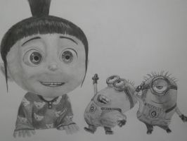 Despicable Me by M3ganK