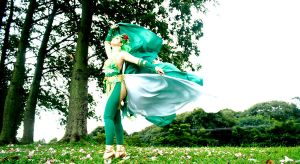 Rydia - Final Fantsy IV by LollipopBunnie
