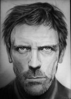 Hugh Laurie by marcelkiss