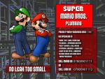digital : super mario brother plumbing advert 2013 by darshan2good