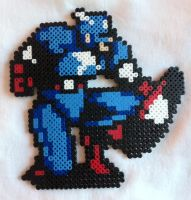 Captain America bead sprite by Flames2Earth