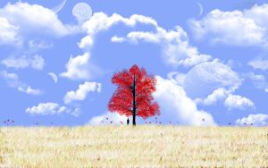 Red Tree by TA1AT