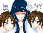 happy bday miyu by Natzrll