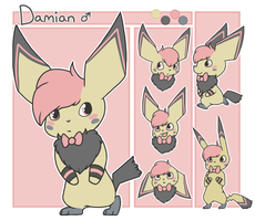 Damian Ref by Star-Swirls