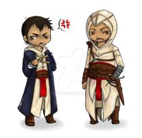 Assassin's Creed I Chibies by Lizzuzci