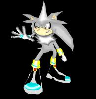 silver the hedgehog by shadmart