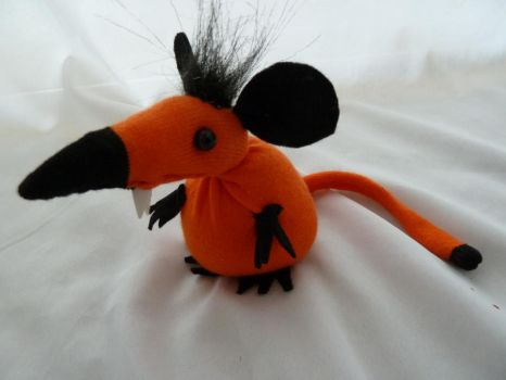 Punkin the Rat by IckyDog