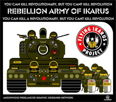 rebellion army of ikarus by flying-ikarus