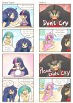 My little Kindergarten 4koma by HowXu
