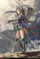 angle warrior with my changes by ayria1
