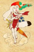 Okami Shiranui by zirio