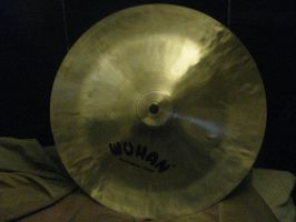my new Wuhan crash Cymbal by ownerfate