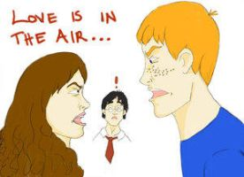 Love is in the Air...-kspatula by HogwartsArt