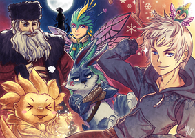 ROTG: Guardians, Assemble! by nururuateka
