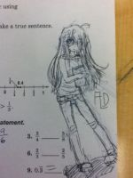 Doodling in Math :P by LadyDeathCandy
