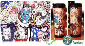 Starbucks Tumblr_my design by Enijoi