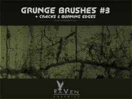 Grunge Brushes , Cracks by RavenGraphics