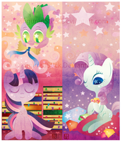 MLP bookmark by DisfiguredStick