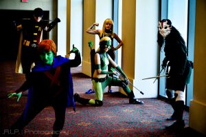 Chillax Justice by TitanesqueCosplay