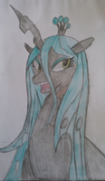 MLP Queen Chrysalis. by PrinceNight