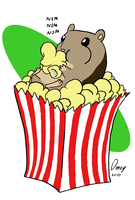 Cinema Hamster by Omny87