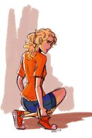 Annabeth by illustrationrookie