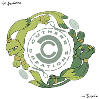 4moto: Cuthere Creations Crest by Jesseth