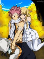 NaLu: You gave me courage to stand... by Joshdinobarney
