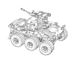 Concept WIP - Armored Car by MikeDoscher