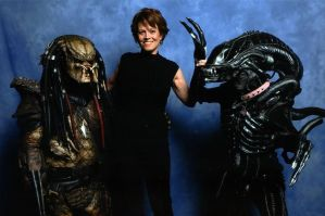 The day we met Sigourney Weaver. by Abi-T-Xeno