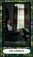 Hannibal Tarot: III - The Empress by DarkFairyoftheWood