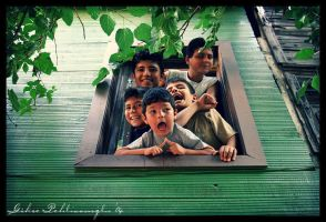 green house children chorus by Anahita