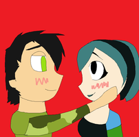 Gwen And Trent by wearedawolves