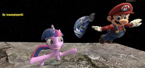 Super Mario Twilight Galaxy by insaneplayer03