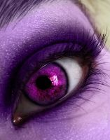 Purple Frost Eye by cryingunderwater