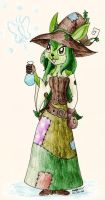 AGEHA - Sophie the Swamp Witch by Chaotic-Kyubi