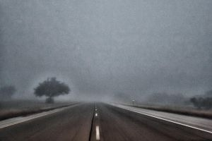 Foggy Texas morning by badchess