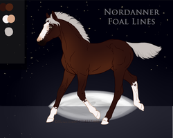 313 Figurativel Laced Foal Design by blackwing-fang