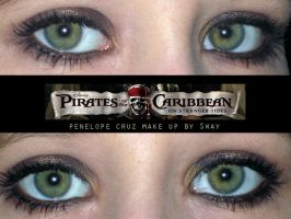 Penelope Cruz pirates make up by Toxic-Sway