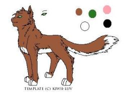 My Warrior Cat: Tangletalon by lucidcoyote