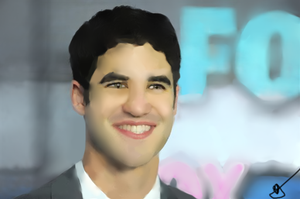 Darren Criss - Painting by LoonyMuffins