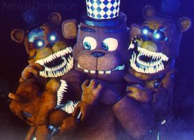 Fredlings and Freddy Junior by NexusDrakeson
